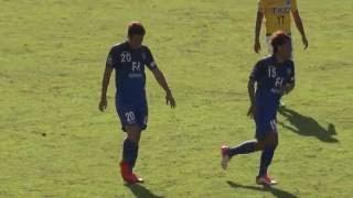 20151018アビスパ福岡VS栃木SC酒井宣福選手ゴール