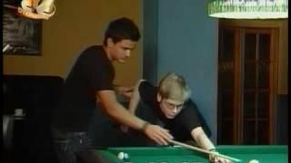 """Пул (Pool). Константин Степанов и Михаил Мосин в """"Galileo"""""""