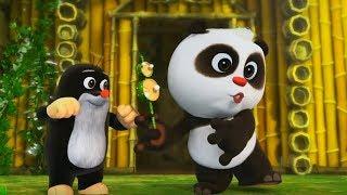 Кротик и Панда - все серии сразу - сборник - 41-45 -  развивающий мультфильм для детей