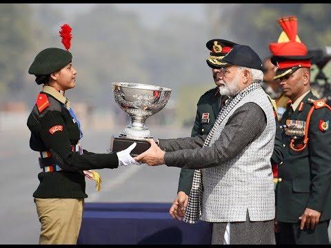 PM Narendra Modi attends the NCC Rally in New Delhi