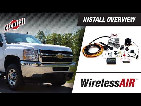 Air Lift Wireless Dual Path On Board Air Compressor System