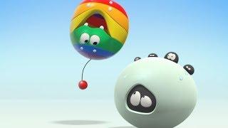 Wonderballs - Fobia de Palco | Animados engraçados | Aprenda cores | vídeos infantis