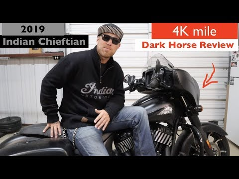 2019 Indian Chieftain Dark Horse at Shreveport Cycles