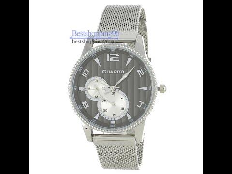 Видео обзор наручных часов Guardo 11718-1