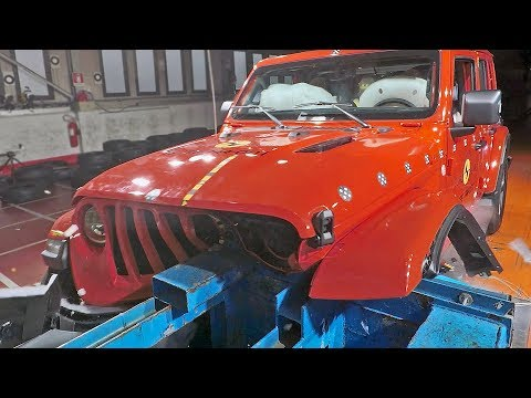 JEEP WRANGLER (2019) Really NOT Safe??? 😱 [Crash Test]