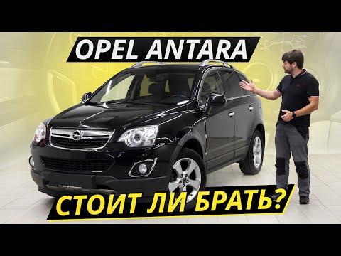 Antara – Opel без французских корней, но с корейскими отсылками   Подержанные автомобили