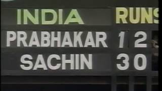 *RARE* India v New Zeland 1995 ODI series review OLD GOLD FROM ROB!