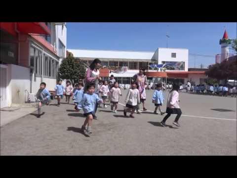 笠間 友部 ともべ幼稚園 子育て情報「新年度最初の3分間マラソン」