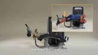 5Matrix Fitness Ultra Prone Leg Curl Setup & Movements