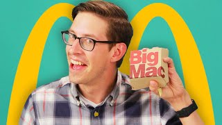Keith Eats Everything At McDonald's • The Try Vlog - Video Youtube