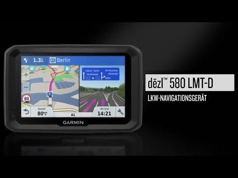 Garmin dēzl™ 580 - Benutzerfreundliches GPS-LKW-Navi