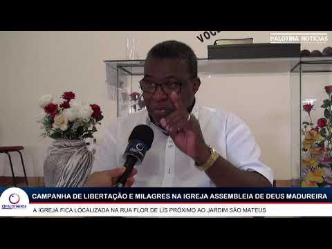 Campanha de libertação e milagres na Igreja Assembleia de Deus Madureira