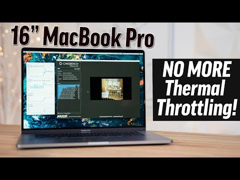 16-inch MacBook Pro: Benchmarks and thermal performance