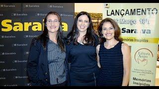 Cobertura TV IN FOCUS - Editora Anjo, lançamento escritora Cleidiane Fidelis .