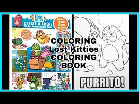 Lost Kitties Coloring Book / Taco Cat