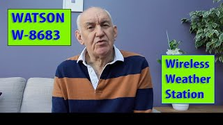 Wireless Weather Station Watson W 8683