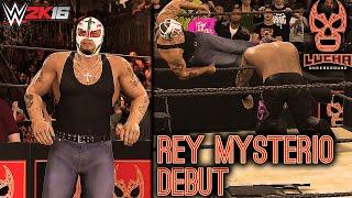 WWE 2K16: Lucha Underground - Rey Mysterio Debut 2016 (PS4/Xbox One)