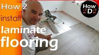 How To Install Laminate Flooring Over Underfloor Heating Mat Video