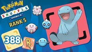 Pokémon Shuffle Mobile | QUAGSIRE, WOOPER (641-645) RANK S