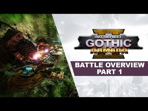 Battlefleet Gothic: Armada 2 - Battle Overview Part 1 thumbnail