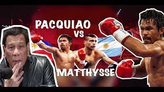 Pacquiao vs Matthysse HIGHLIGHTS JULY 14, 2018