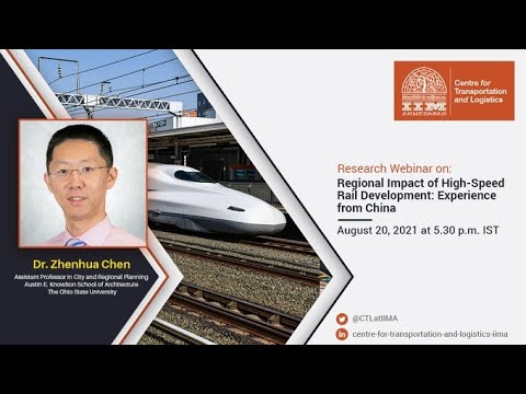 Regional Impact of High-Speed Rail Development: Experience from China