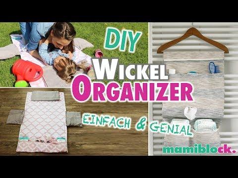 2 DIY Wickelorganizer | Genial & Einfach | mamiblock