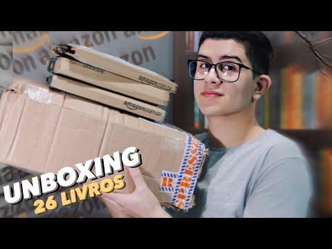 UNBOXING |  Vários livros novos e muitas parcelas pra pagar