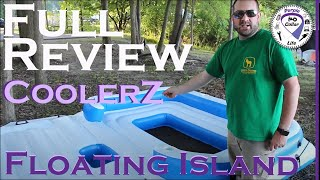 #13: CoolerZ Tropical Breeze Floating Island Raft – detailed review covering unboxing, use, teardown