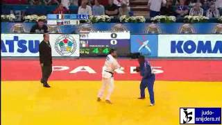 Judo 2011 World Championships Teams Paris: Magomedov (RUS) - Dragin (FRA) [-66kg]