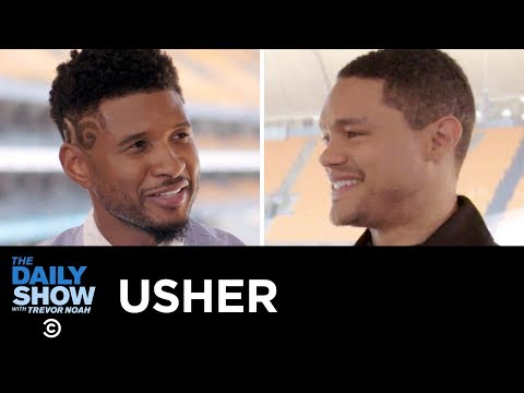 Usher - Being a Global Citizen & Shaping Lives with Usher's New Look Organization | The Daily Show