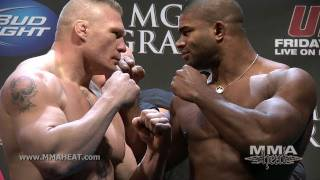 UFC 141: Lesnar / Overeem + Diaz / Cerrone Weigh-in + Face-off