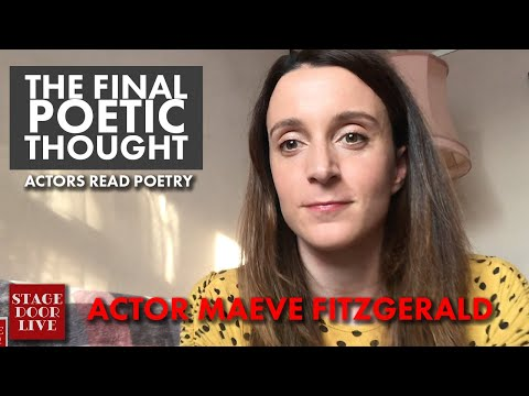 , title : 'Irish Theatre Actor Maeve Fitzgerald reads poem 'Wild Geese' by Mary Oliver