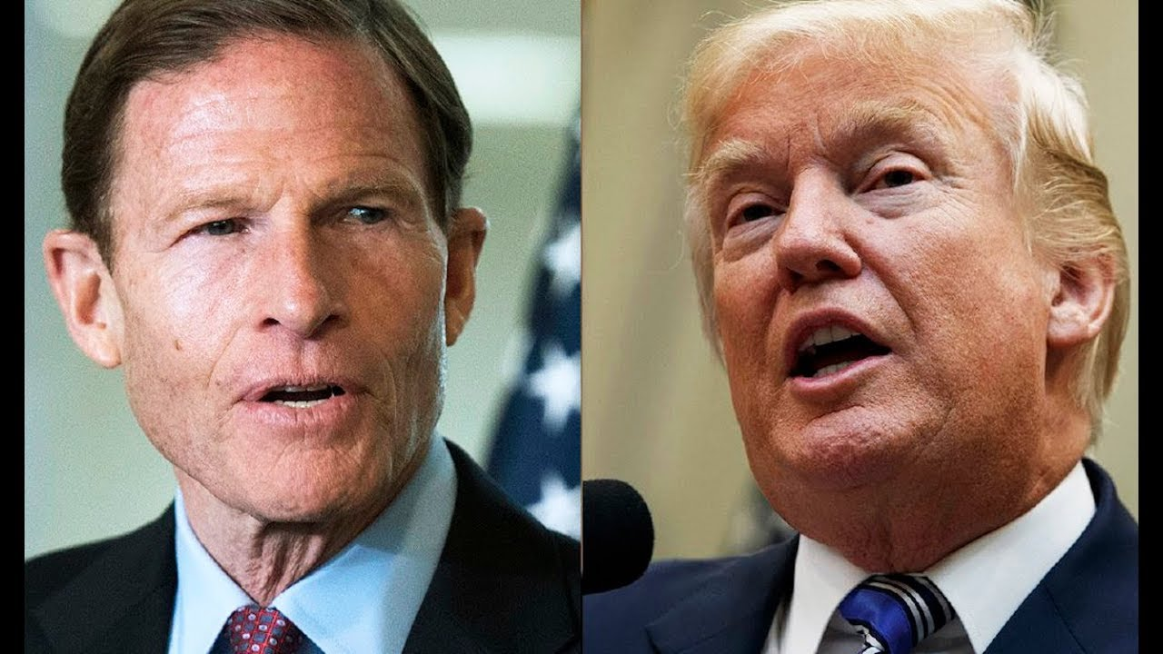 Trump's New Twitter Feud With Richard Blumenthal thumbnail