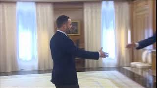 Audiencia de S.M. el Rey a Santiago Abascal, de VOX
