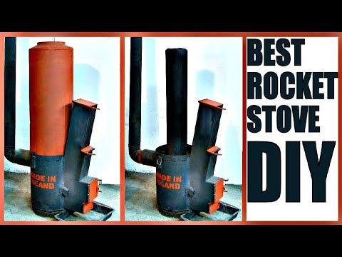 Best ROCKET STOVE DIY [Plans]