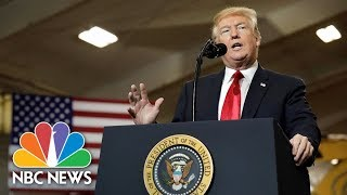 President Donald Trump Speaks At Naval Academy Graduation | NBC News