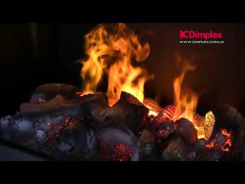 Электрокамин Dimplex Redway wf Video #1