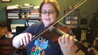 Abandoned Funhouse Violin 1