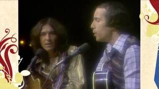 Paul Simon and George Harrison -
