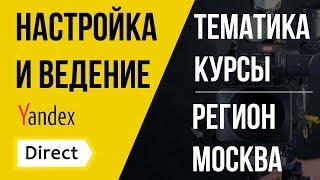 Яндекс Директ - Кейс курсы речи.