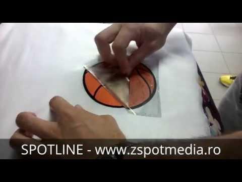 Personalizare tricouri cu autocolant 3D