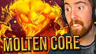 Asmongold FIRST RAID Of Classic WoW: Molten Core (Tragic Ending)