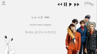 SHINee 샤이니 - Replay 누난 너무 예뻐 Color-Coded-Lyrics Han L Rom L Eng 가사  By Xoxobuttons