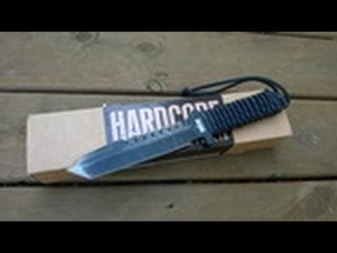 "HHA Combat Knife ""BFK01 Gen 1"" REVIEW"