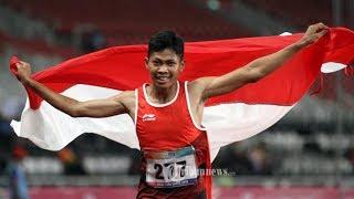Torehkan Waktu 11,49 Detik, Sapto Yogo Purnomo Pecahkan Rekor Asia 100 Meter Putra Para Athletics