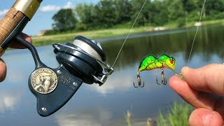 Big MYSTERY Fish Caught On VINTAGE Tackle!!! (Surprise Catch)