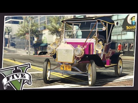AMAZING VINTAGE FORD MODEL T IN GTA 5!