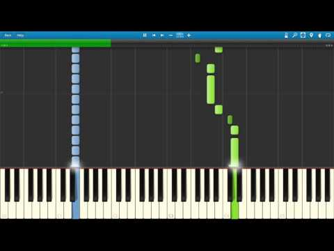 Coldplay - Speed Of Sound (Piano Tutorial   Synthesia)