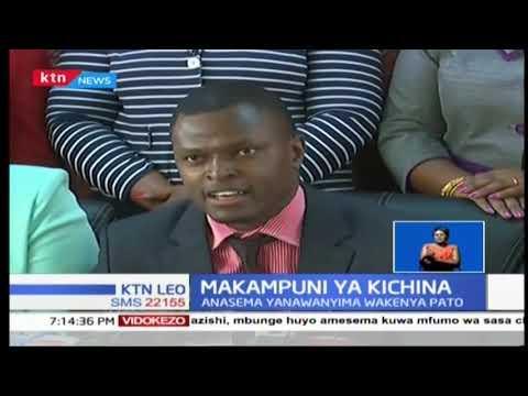 Mbunge Rigathi Gachagua ameanzisha mchakato wa kudhibiti idadi ya raia wa kigeni